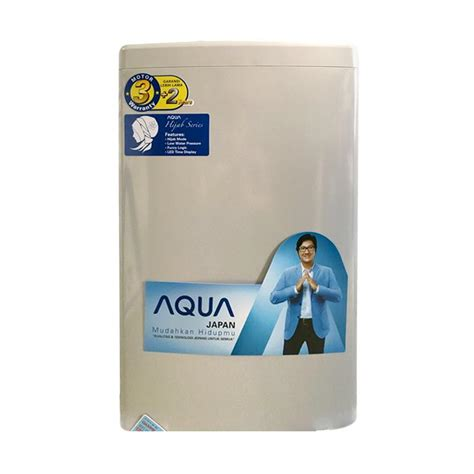 Mesin Cuci Aqua Japan Front Loading jual rekomendasi seller aqua japan aqw 97d h mesin cuci