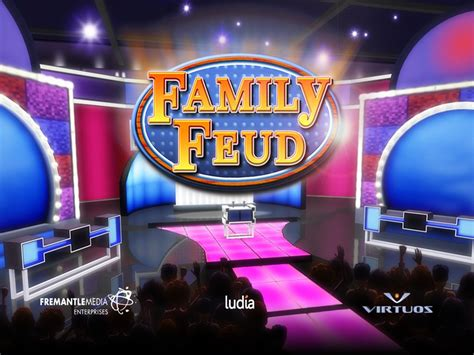 Review Family Feud Ipad Iphone Version Survey Says Family Feud