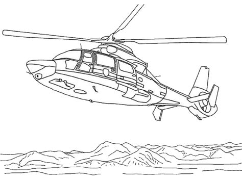 coloring page helicopter coloring pages 7