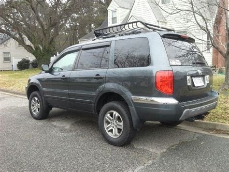 lifted pilot honda 2005 honda pilot exl lifted roof basket tow package