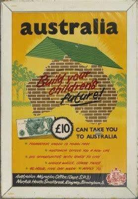australian immigration bureau 1955 australian migration office poster australia s