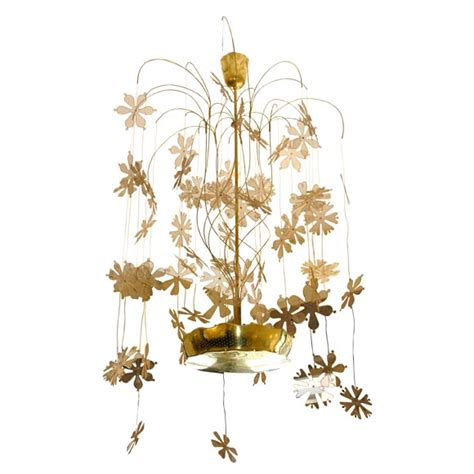 Paavo Tynell Snowflake Chandelier At 1stdibs Snowflake Chandelier