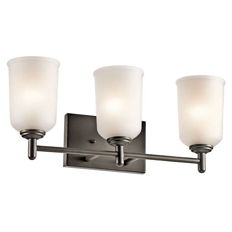Kichler Lighting Bathroom Lighting Kichler Lighting Shailene Bathroom Light 45574oz Destination Lighting