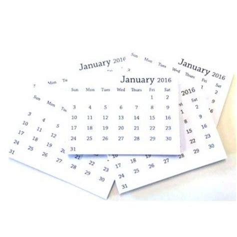 2018 mini tear off calendar set of 10 craft fairs craft and