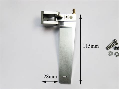 rc catamaran ebay aluminum rudder for catamaran 115mm rc boat ebay