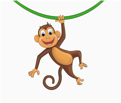 monkey clipart hanging monkey template clipart panda free clipart images