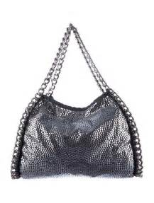 Home Decor Consignment by Stella Mccartney Falabella Studded Shoulder Bag Handbags