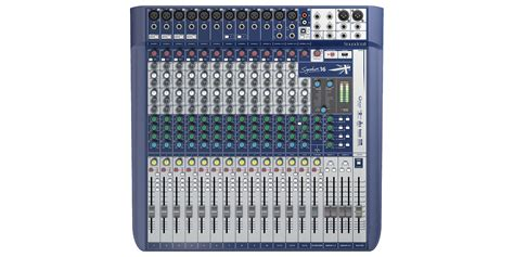 Mixer Soundcraft Fx 16 signature 16 soundcraft professional audio mixers