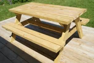 Simple picnic table plans table plans pdf download