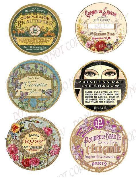 chic shabby vintage labels  beauty fh ebay