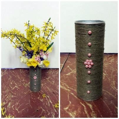 homemade flowers homemade vase for flowers diy crafts pinterest
