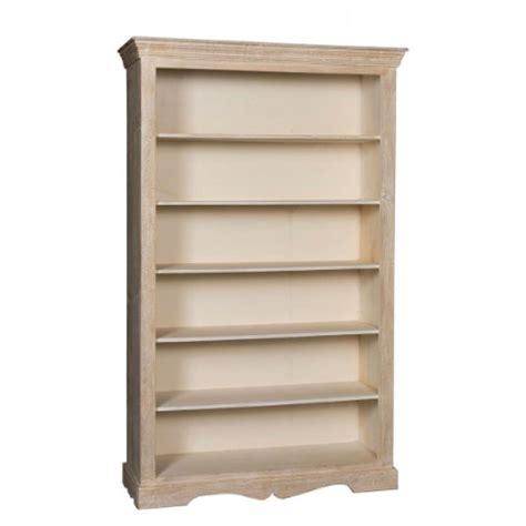 libreria legno decapata 120 etnico outlet librerie decapate