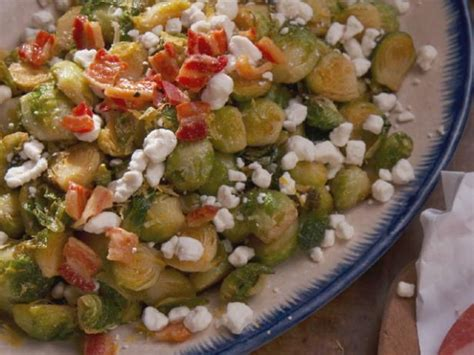 ina garten brussel sprouts pancetta roasted brussels sprouts with crispy pancetta recipe