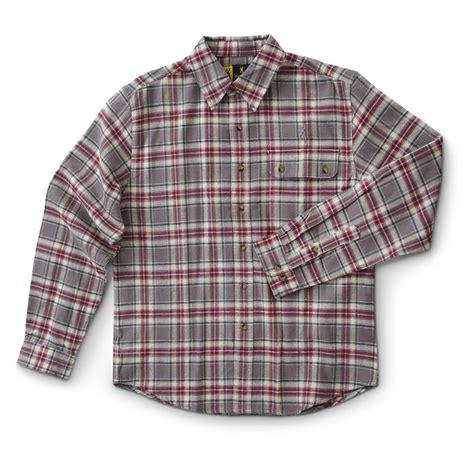 Plaid Shirt s browning kamas sleeved plaid shirt 593770