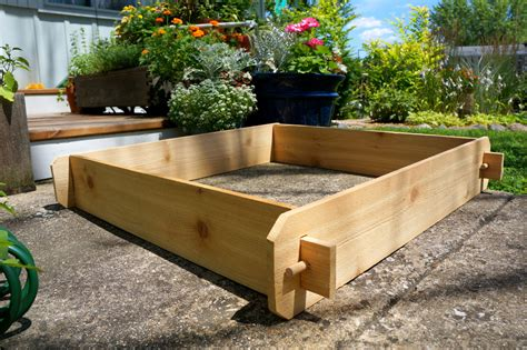 3x3 Cedar Flower Bed Cedar Planter Vegetable Garden Box Cedar Vegetable Garden Box