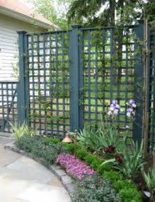 Trellis Fence Screening Inspire Your Garden With A Trellis Dig This Design
