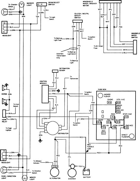 84 chevy truck ignition switch wiring diagram 84 get