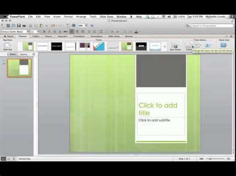 theme ppt for middle school selecting a powerpoint theme by making it as a middle