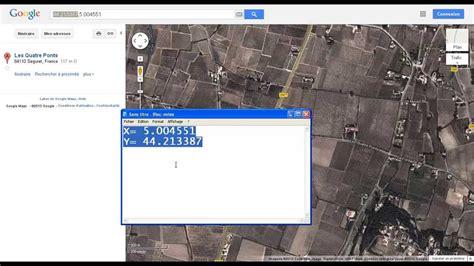 extract     coordinates  google maps