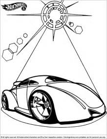 Hotwheels Coloring Page Back To sketch template