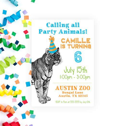 free printable zoo animal stationery printable zoo invitations birthday invitation printable