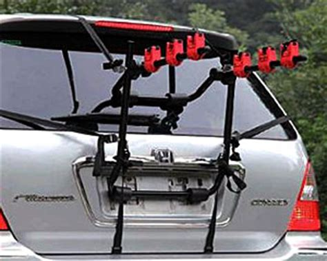 Bike Rack For Hatchback by Car Cycle Carrier 3 Bicycle Bike Rack Universal Fitting