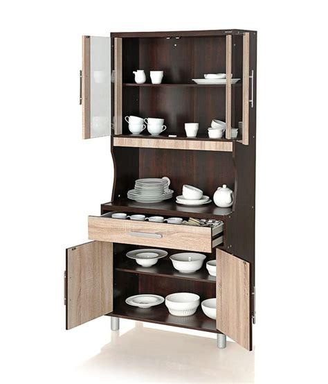 Buy Discount Kitchen Cabinets by Royaloak Milan Crockery Cabinet Buy Royaloak Milan