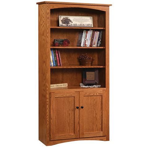shaker amish bookcase amish office furniture cabinfield