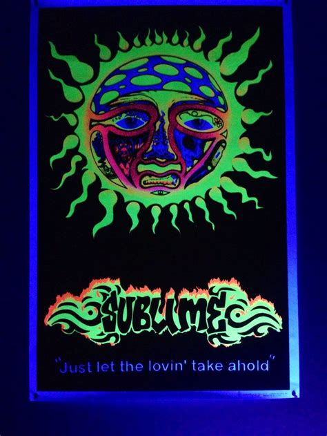 where the light is poster sublime black light poster photography and animals