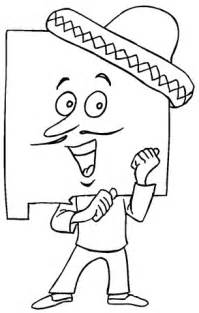 New Mexico State Flag Coloring Page Coloring Pages New Mexico Coloring Pages