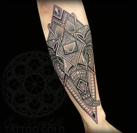 tattoo elephant geometric geometric tattoos elephants and tattoos and body art on