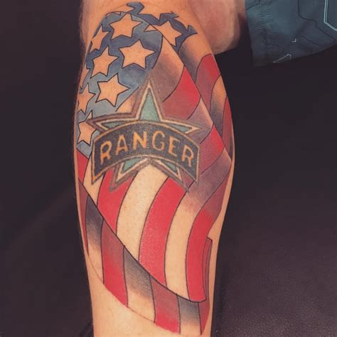army ranger tattoo army ranger veteran ink