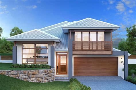 Split Level Ranch House Plans Waterford 234 Sl Home Designs In Goulburn G J Gardner
