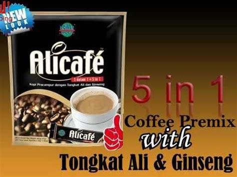 Tongkat Ali Ginseng Coffee shopping for alicafe coffee premix with tongkat ali