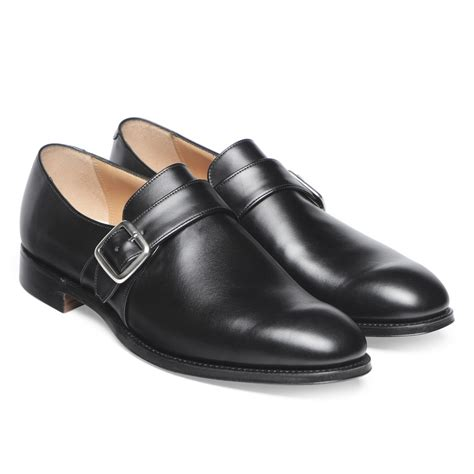 buckle shoes cheaney braybrooke mens single buckle monk shoe made