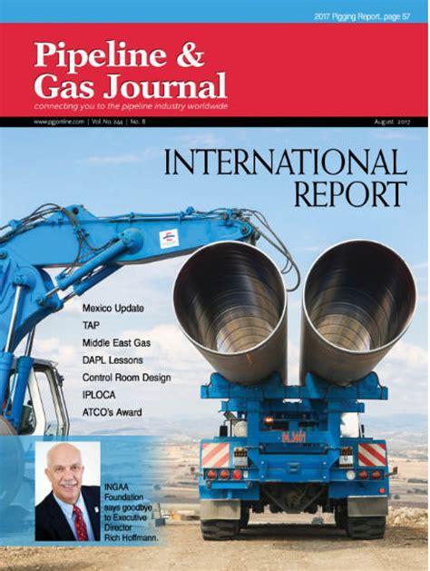 Journal Comtech Vol 8 No 2 2017 august 2017 vol 244 no 8 pipeline gas journal