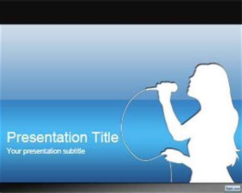 Template Powerpoint Karaoke   karaoke powerpoint template
