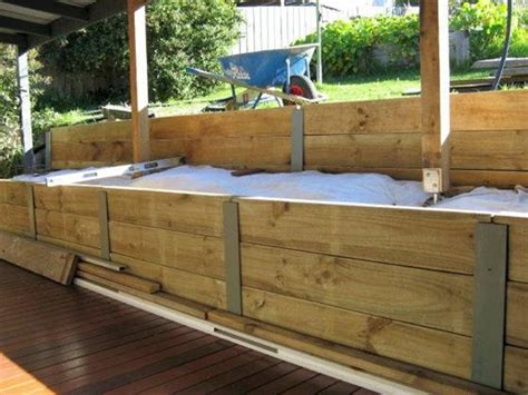 pros and cons of wooden retaining walls interior design