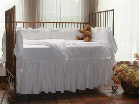 Seersucker Crib Bedding Lulla Smith Baby Bedding Hton Linen Set Cotton Seersucker