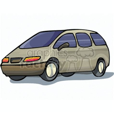 vw minivan cer clipart of