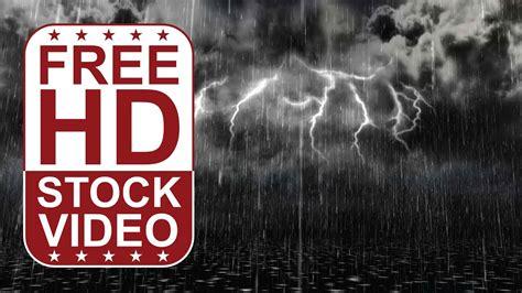 stock  winter scene walking   rain storm  thunders youtube