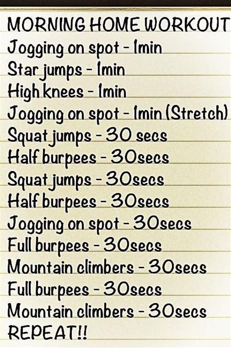 de 25 bedste id 233 er inden for morning home workout p 229