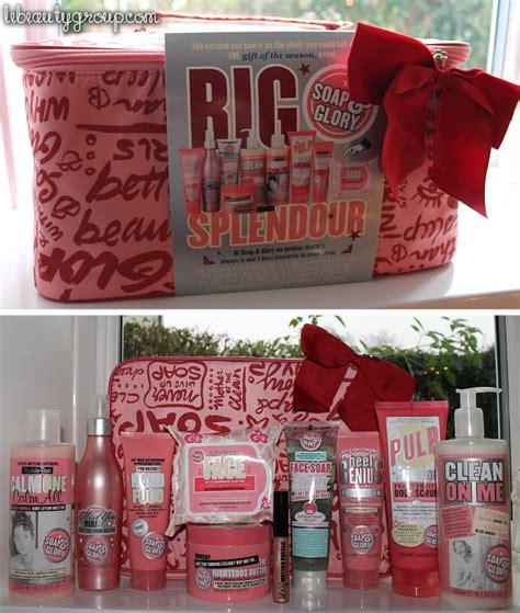 soap and glory big splendour christmas gift set beauty