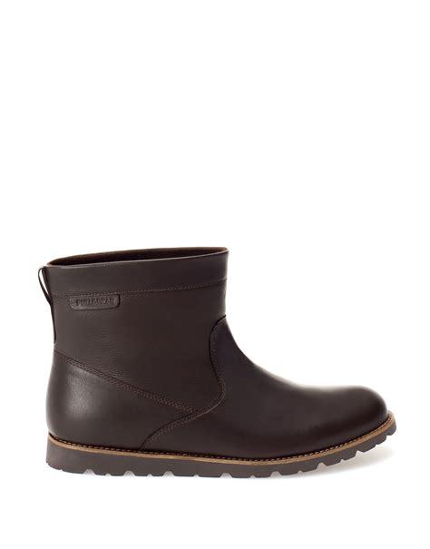 mens eskimo boots pull nappa eskimo boots in brown for lyst