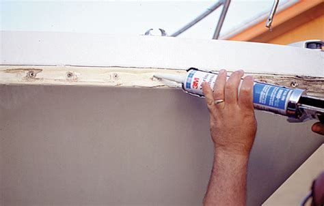 caulking materials for wooden boats what sealant do you need boattech boatus