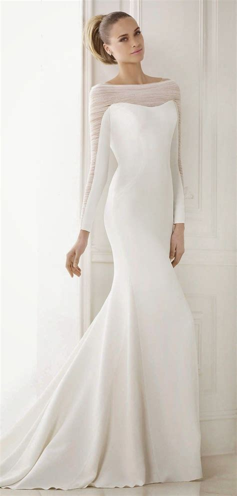 inspirational ideas  simple wedding dresses