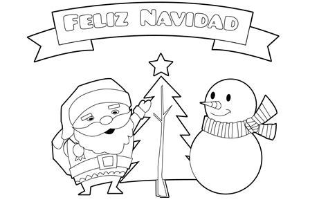 imagenes de navidad bonitas para colorear dibujos de feliz navidad para colorear e imprimir