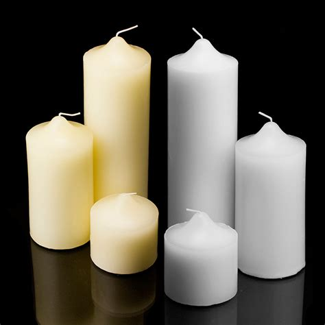 candel wax new pillar wax candles candle unscented weddings