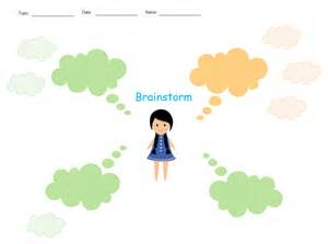 Brainstorming Template by Brainstorm Template Khafre