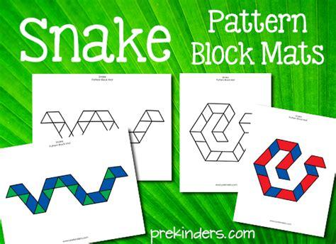 pattern snake kindergarten rainforest theme prekinders